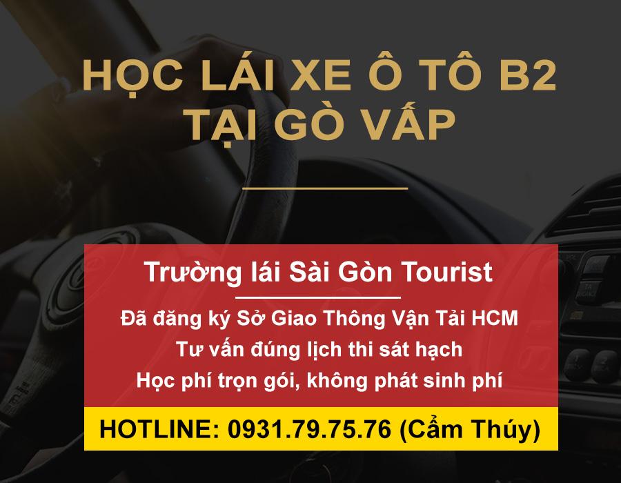 Học lái xe ô tô B2 tại Gò Vấp