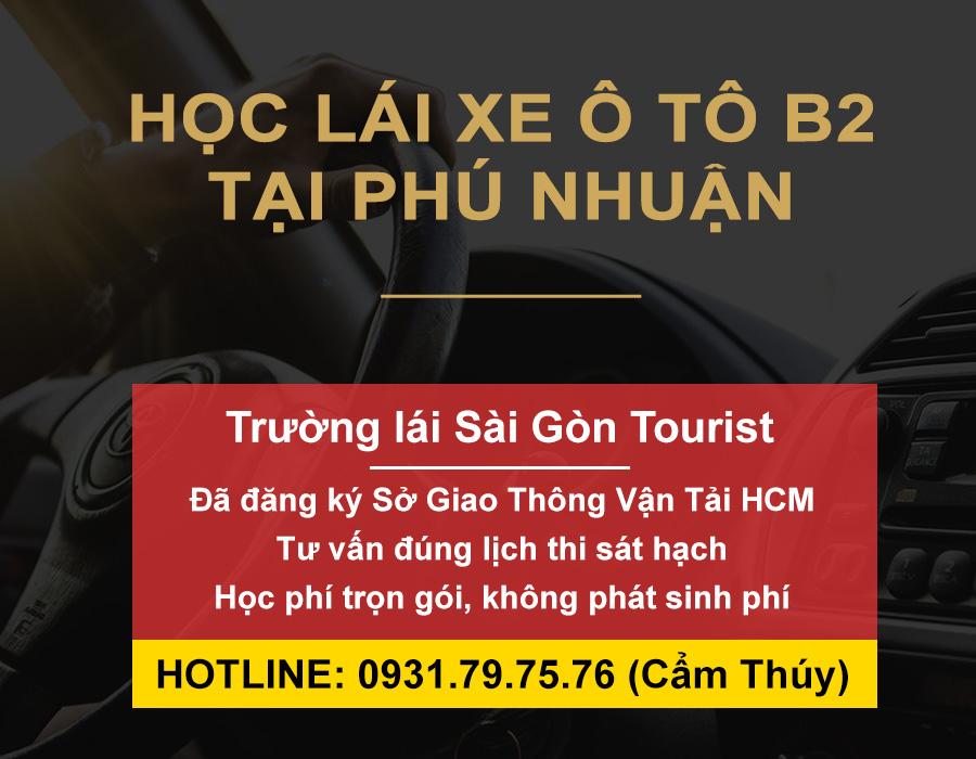 Học lái xe ô tô B2 tại Phú Nhuận